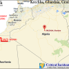 Mortar shell attack on an Algerian gas field, no casualties