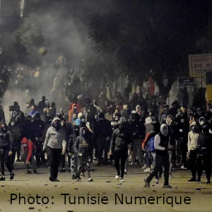 Tunisia: Street riots continue for fourth night in Tunisia